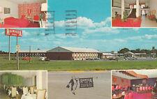 F1455 IL, Ottawa Ramada Inn Postcard