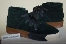 Adidas X Men's Alexander Wang AW Skate MidShoes, AC6851, GreenNight/Black, Sizes