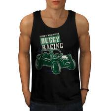 Buggy Racing Automobile Men Tank Top NEW   Wellcoda
