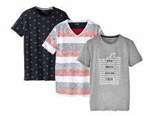 Herren T-Shirt Shirt Kurzarm Freizeitshirt Rundhals V- Ausschnitt Livergy  Neu cf0943a843