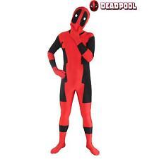Full Body Deadpool X-Men Costume Jumpsuit Zentai Suit For Halloween Cosplay