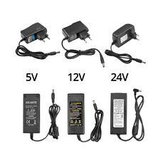 AC 110 220V Power Supply Adapter Transformer LED Strip 1A 2A 3A 5A DC 5V 12V 24V