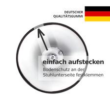 Barhocker-Bodenschutz Ø 41cm | Gummi | BRUCHSICHER | Kratzschutz