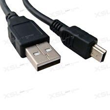 2m - 3m Mini Usb Carga & Sync Cable Lead Cable para unidad de disco duro, controladores PS3, Sat Nav