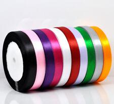 "25 Yard Roll Satin Ribbon - 1/2"" / 12mm wide - UK Seller"