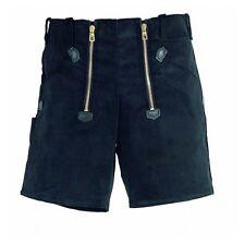 FHB-Short Hans 20033 schwarz 200-33 kurze Hose Genuacord fein-cord Zunft-Short