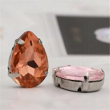 Swarovski #2028 Flatback Xilion Rose 34ss S//Frustrado Diamantes de Imitación opción de color x12
