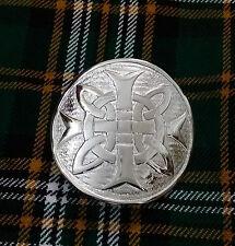 Para hombres Nudo Celta Kilt Hebilla de Cinturón Hebillas de cinturón de plata antigua/Kilt Nudo Celta