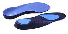 BODYTEC benessere Orthotic Solette Back & Tacco trattamento del dolore (Blu)