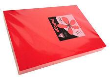 CORALLO Rosso 160 GSM a4 ORIGINALE STAMPANTE Carta Fotocopiatrice x risme di 250 FOGLI