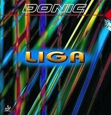 Donic Liga         Top Allround Belag      Schwarz /Rot