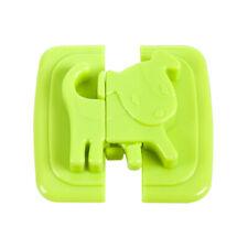 New listing 2 pcs Baby Safety Lock Children Cabinet Drawer Door Fridge Blockers Plastic Us