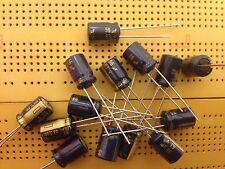 63 V 2.2uF 4.7uF 12uF 22uF 33uF 47uF 56uF 82uF 100uF 120uF Al Condensateurs Radial