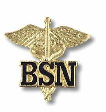 BSN Bachelors Of Science Nursing Nurse Lapel Enblem Pin Free Shipping