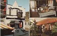 G0567 Canada, Montreal Restaurant Francais Assiette Au Boeuf Postcard