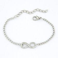 ARMKETTCHEN Infinity Unendlich Armkette Damen Armband silber & gold verstellbar