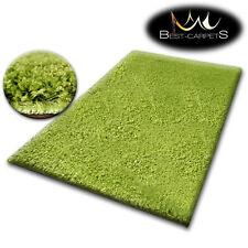 pas cher doux Tapis POILU 5cm vert haute qualité NICE en Touche beaucoup taille