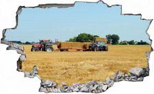 Traktor Landwirtschaft Bauer Feld Wandtattoo Wandsticker Wandaufkleber C0486