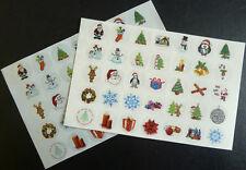 Natale & Festivo Adesivi, Etichette, Guarnizioni per Carte, Buste, Pacchi