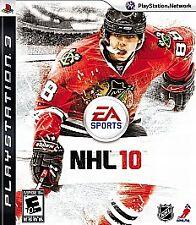 NHL 10 - Sony Playstation 3 PS3 EA Sports / Hockey Game