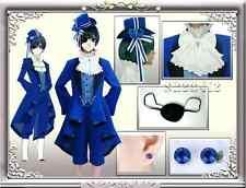 Black Butler Ciel Phantomhive Cosplay Costume Full Set Dress