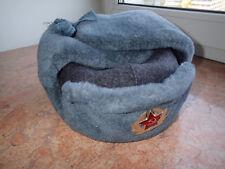 !!! Original USSR Soviet MILITARY Red Army Ushanka Fur winter Hat GENUIN WOOL