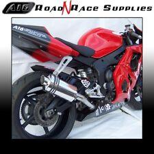 Yamaha R6 2003-2005 A16 Stubby Acero Tubo de escape con enlace SC