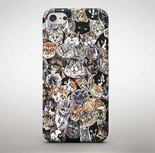 I gatti Collage Ginger Tabby GRUPPO PHOTO Divertente Animale MISTI ANIMALI DOMESTICI Telefono Case Cover