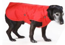 Waterproof Nylon Fur-lined Rain Coat