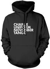 Charlie Uniform November Tango  Unisex Hoodie