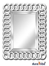 Richmond Wall Mirror, Designer Rectangular Shape, Large Size 90 cm x 70 cm