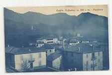 CARTOLINA ANTICA DI CAGLIO VALLASSINA CASE  1915
