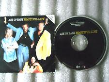 CD-ACE OF BASE-BEAUTIFUL LIFE-VISSION LORIMER RADIO----(CD SINGLE)-1995-2 TRACK