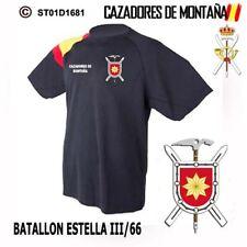 CAMISETAS TECNICAS CAZADORES DE MONTAÑA: BATALLON ESTELLA III/66  M1