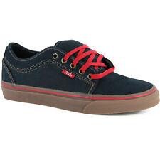 Vans CHUKKA LOW Navy Gum Red Tan VN-0NKANGM Skateboarding (424) Men's Shoes