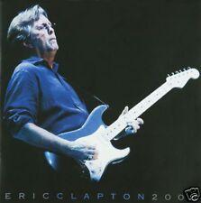Eric Clapton North America Europe 2008 Tour Book NEW!!