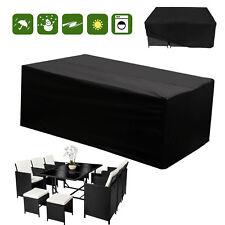 Waterproof Furniture Set Cover Heavy Duty 6-10 Seater Rattan Cube Outdoor Garden