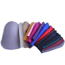Womens Wool Felt Cone Cloche Hood Millinery Hat Fascinator Block Base Body B107