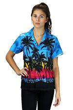 Funky Hawaiibluse Beach Türkis verschiedene Größen Hawaiian Shirt