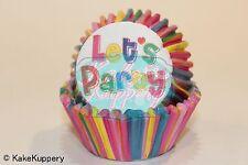 Birthday Baking Cupcake Liners, Balloon, Party Dots #24