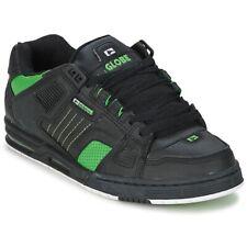 Sneakers Scarpe uomo Globe  SABRE  Nero Cuoio  71273