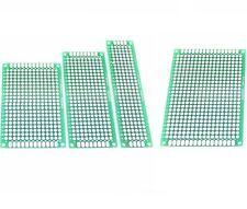 1/5/10PCS Double Side Prototype PCB Bread board Tinned Universal 2x8cm - 9x15cm
