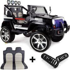 """Jeep 4x4 """"Off Road"""", 4 Motoren Kinderauto Kinderfahrzeug Kinder Elektroauto Schw"""