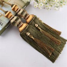 1 Pair Curtain Braided Rope Tassels Tiebacks Tie Backs Lantern Ball Decor