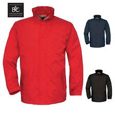 Boys Girls Fleece School Winter Jacket Mid Weight Black Navy Red B&C Ocean Shore