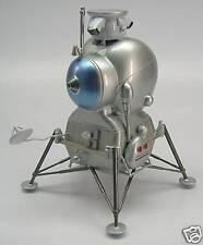 LK Lunar Craft Moon Lander Spacecraft Mahogany Kiln Dry Wood Model Large New
