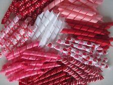 Korker Ribbon~100 precut pieces~heat sealed~VALENTINE~you pick the size