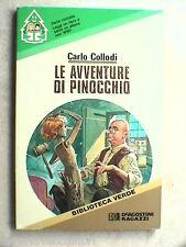 LE AVVENTURE DI PINOCCHIO Carlo Collodi De Agostini 1986 Coper Severino BARALDI
