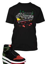 MVP Graphic Tee shirt To match Air Jordan 1 Retro High Flyknit BHM Shoe Graphic