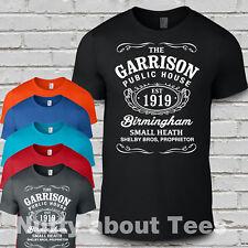 The Garrison  T Shirt Peaky birmingham Pub mens  Blinders t.v shelby bros